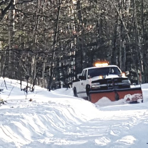 white truck plowing01