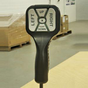 Straight Blade Handheld Snowplow Control